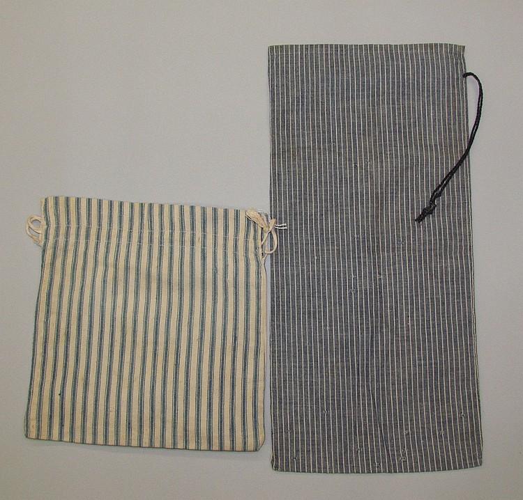 2 fabric bags