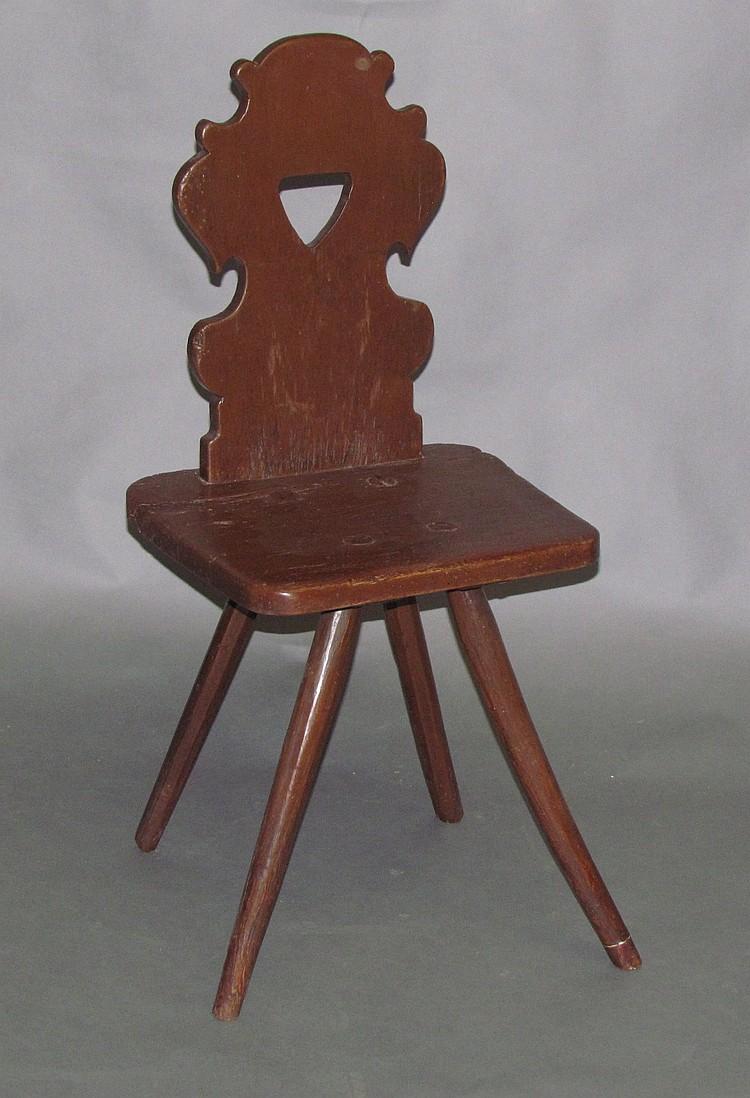 Moravian chair (Bretstuhle)