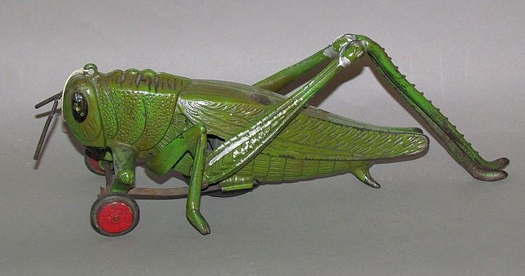 Hubley Grasshopper Pull toy