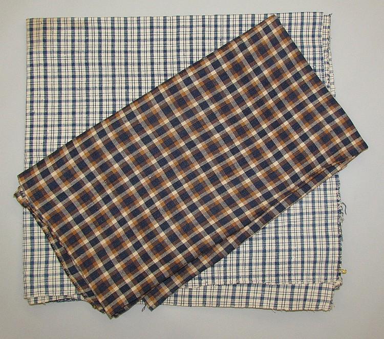 2 pieces of homespun linen