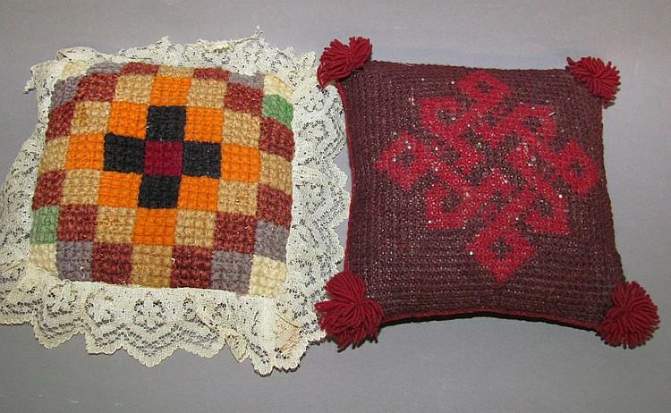 2 pin cushions