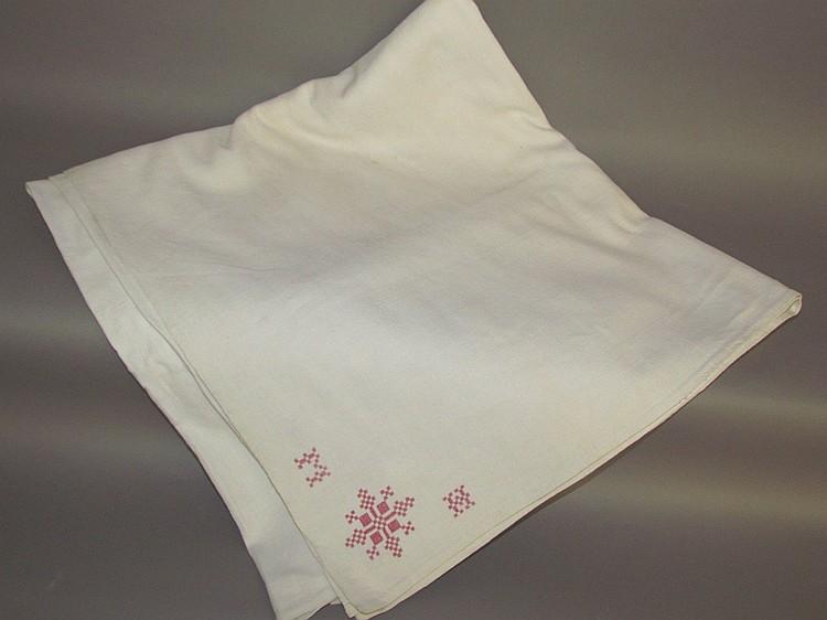 Homespun linen sheet
