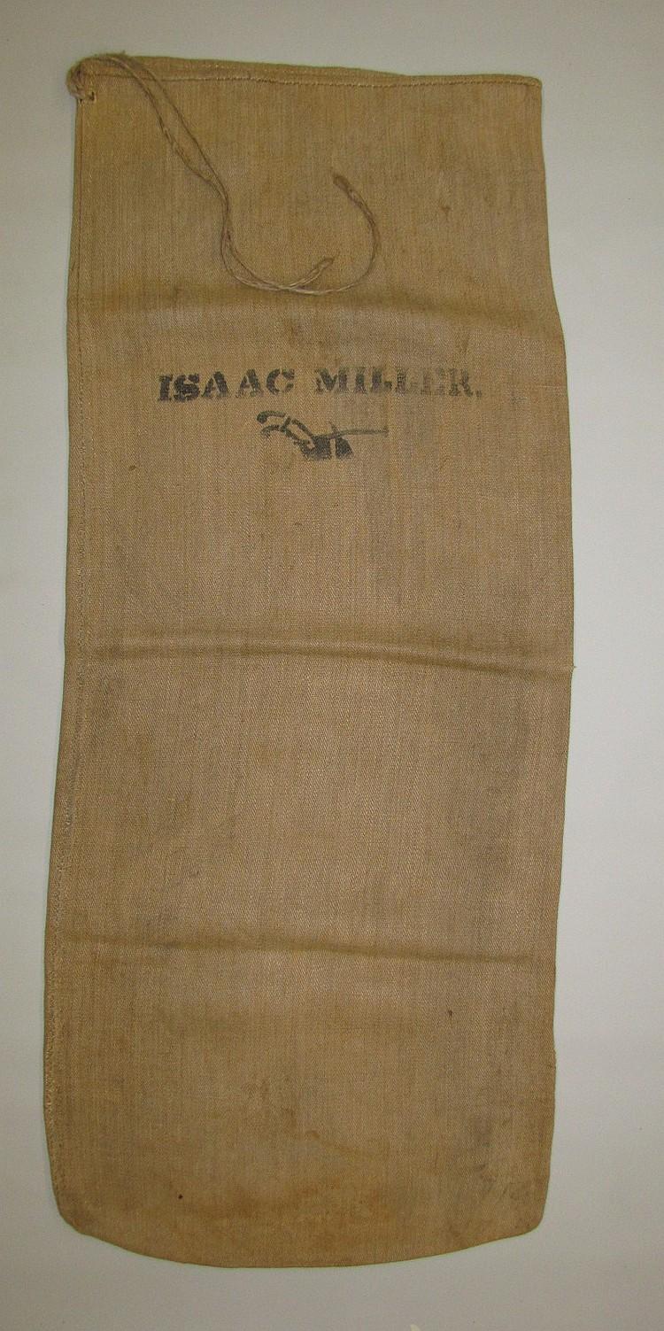 Homespun Tow Grain Bag