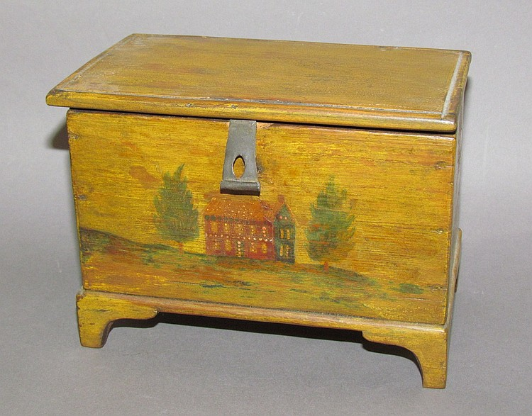 Decorated Weber sewing box