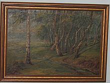 Stahlknsche landscape painting