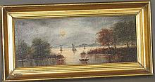 View of the Potomac painting