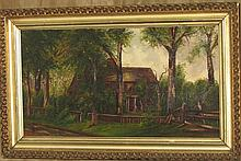 J.W. house painting