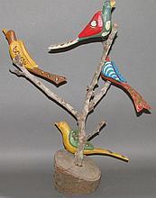 Daniel & Barbara Strawser bird tree