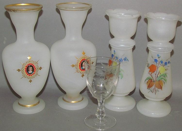 Lot 136: European blown glass
