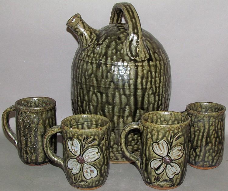 Cleater & Billie Meaders jug & mugs
