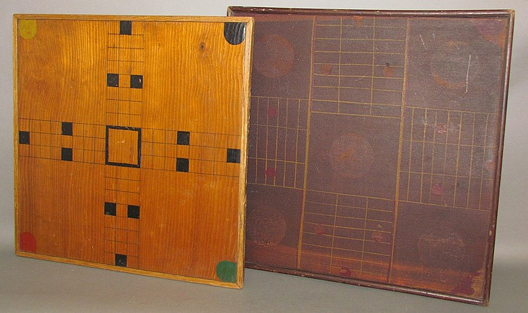 Lot 177: 2 homemade game boards