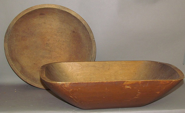 Lot 98: 2 wooden kitchen primitives