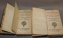 Lot 141: 2 early leatherbound imprints