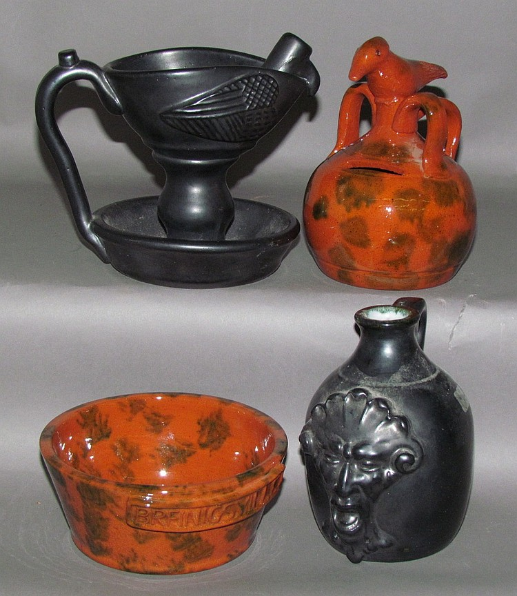 4 pieces of Seagraves pottery