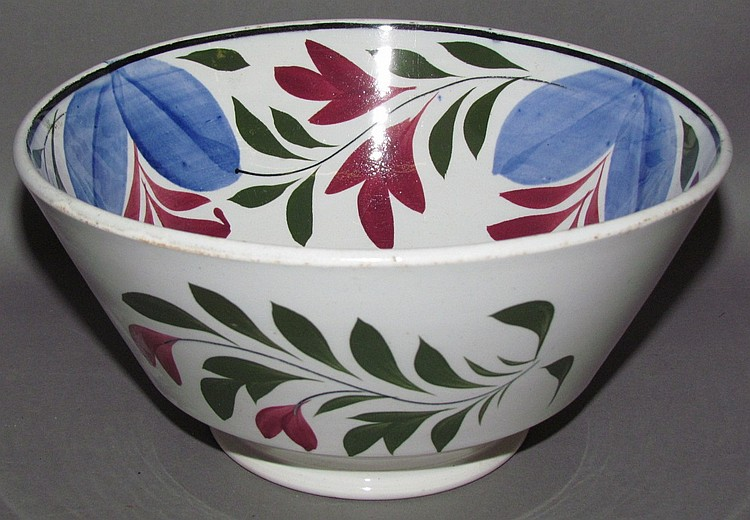 English Staffordshire bowl