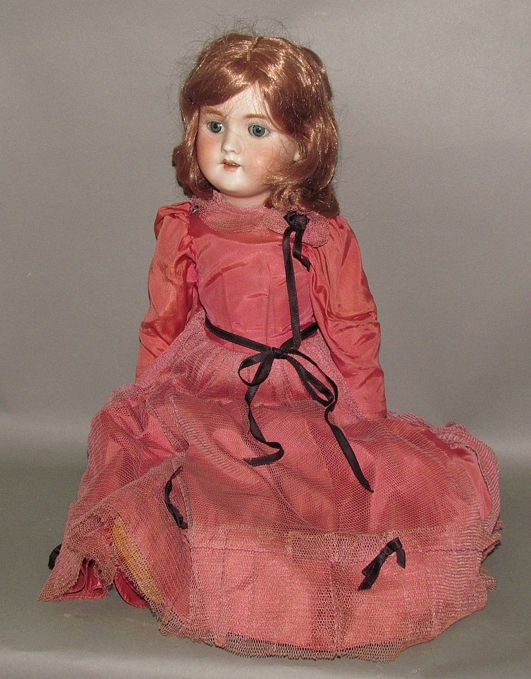 Halbig, Germany bisque head doll
