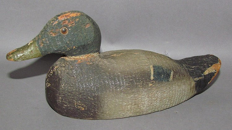 "Wooden Animal Trap Co ""Victor Decoys"" salesman sample"