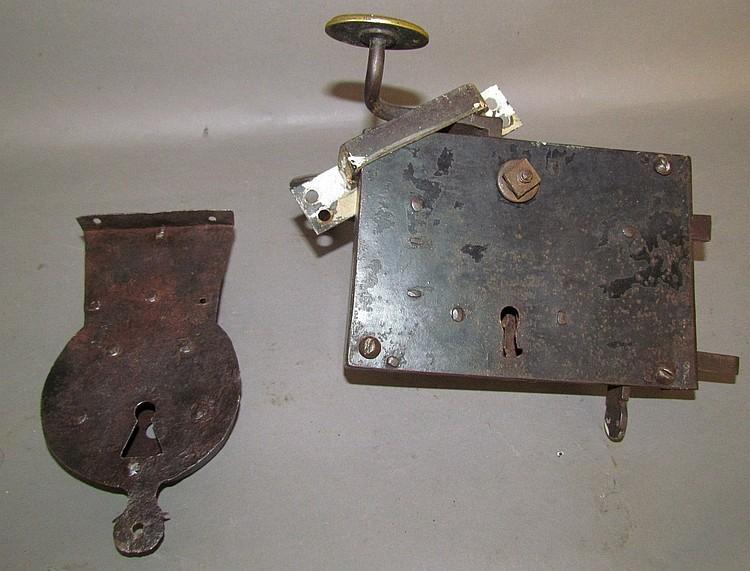 2 hand wrought locks