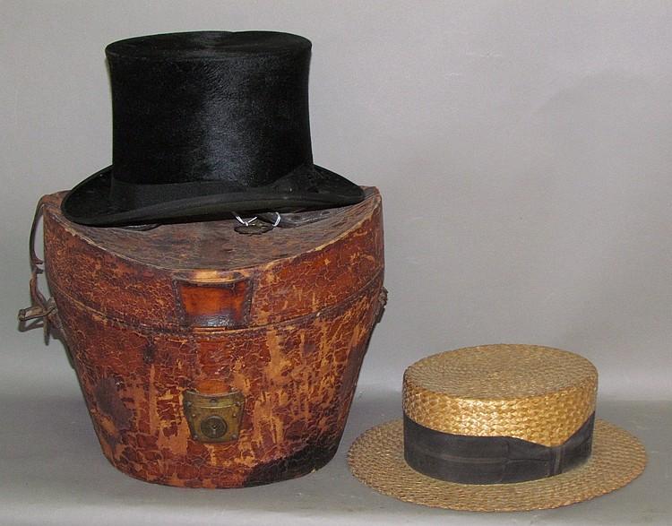 Lot 370: 2 vintage men's hats