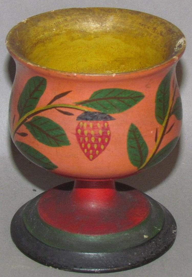 Lehnware footed master salt