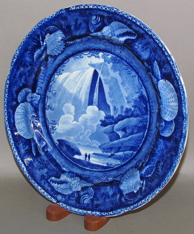 Lot 310: Table Rock Historical Blue plate