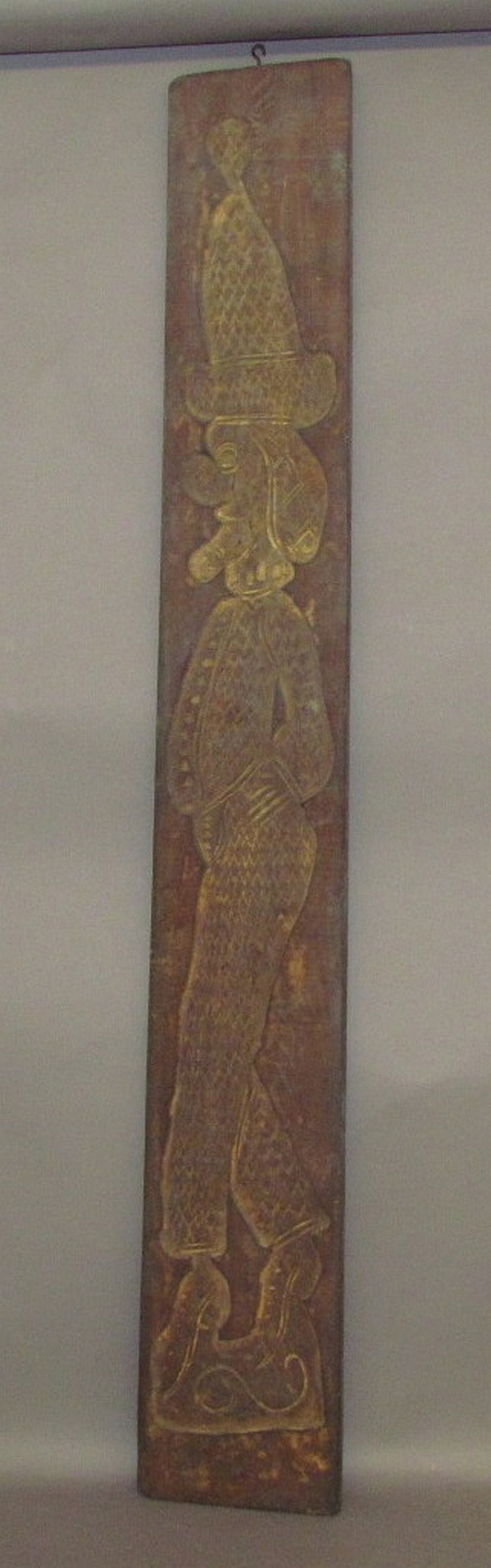 Lot 360: Hessian soldier wooden cookie mold