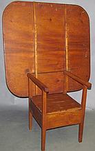 Lot 469: Chair table