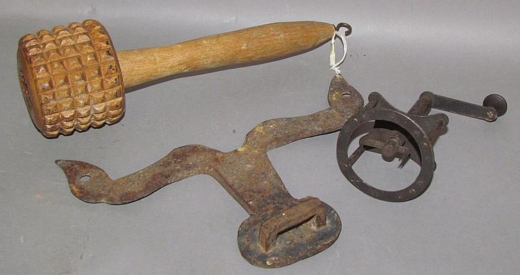 Lot 287: 3 primitive tools