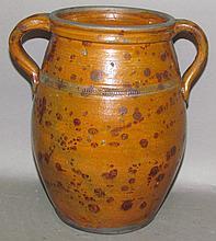 Greg Shooner redware jar