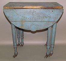6 leg child's dropleaf table