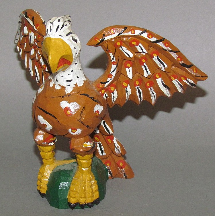 Jonathan bastian eagle carving