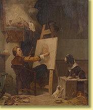 Karl Joseph Litschauer (1830-1871) École autric