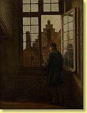 Henri De Braekeleer (1840-1888) École belge Huile