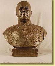 Marcel Rau (École belge). Sculpture en bronze à