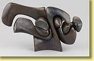 Olivier Strebelle (École belge). Sculpture en