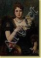 Léon Herbo (1850-1907) École belge Huile sur toile, Léon Herbo, Click for value