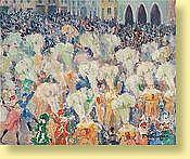 Fernand Verhaegen (1883-1975) École belge Huile