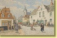 Amédée Lynen (1852-1938) École belge Technique