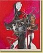 Roger Somville (1923-) École belge Gouache sur, Roger Somville, Click for value