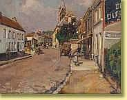 Adolphe Keller (1880-1968) École belge Huile sur