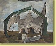 René Guiette (1893-1976) École belge Huile sur