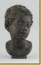 Léon Mignon (École belge). Sculpture en bronze à