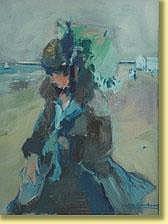 Victor Creten (1878-1966) École belge Technique