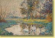 Carlo Van Her (1884-1960) École belge Huile sur