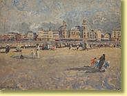Léon Houyoux (1856-1940) École belge Huile sur