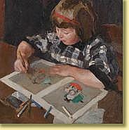 Pol Dom (1885-1978) École hollandaise Huile sur