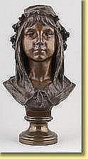 Émile Namur (École belge). Sculpture en bronze à