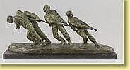 Victor Demanet (École belge). Sculpture en bronze