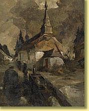 Camille Barthélemy (1890-1961) École belge Huile