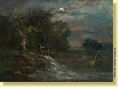 Émile Keymeulen (1840-1882) École belge  Huile